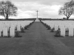 Caterpillar Valley Cemetery, Longueval, Somme, France. Photo by Christopher Teasdale