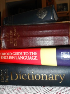 Yes, plural dictionaries. No word goes undefined in this house!