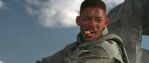 If only I could punch my germs in the same way Will Smith punches alien invaders.