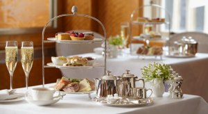 Here is a picture of afternoon tea. I'm not going to talk about afternoon tea. (Pic from Betty's of Harrogate)