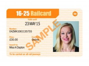 God bless this railcard.