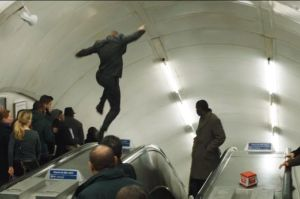 I expected to see this at least onece a week on my daily commute. (Pic from london-underground.blogspot.com)