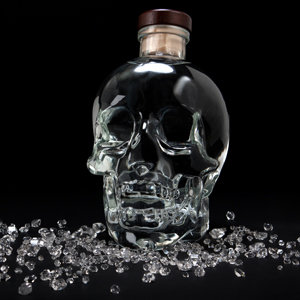 It could all be an elaborate advert for Crystal Head Vodka anyway. (Pic from amazon.)
