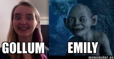 Emily-Gollum