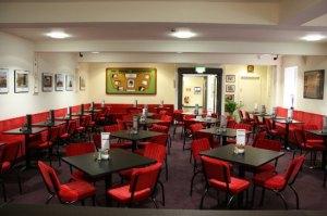 Inside Tyneside Cinema Coffee Rooms
