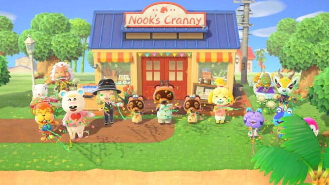 Townsfolk of Animal Crossing